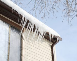 Inspect your roof and gutters for damage before winter sets in