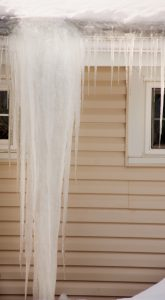 preventing water damage to roofs from ice dams during winter North Shore Home Works services Chicago, Northbrook, Highland Park, Lake Forest, Lake Bluff, Glenview, Kenilworth, Wilmette, Winnetka, and surrounding IL areas